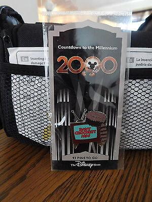 SEALED Disney Store Countdown Millennium Davy Crockett 1954 2000 Pin #94