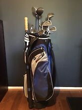 Complete golf set (mens LEFT handed) Valentine Lake Macquarie Area Preview