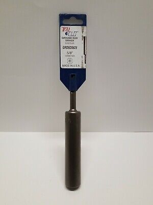 Tru-cut Sds Ground Rod Driver 58 Inch Diameter - Usa Made