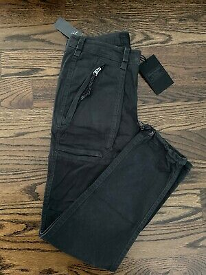 ABERCROMBIE & FITCH MENS STRAIGHT PARATROOP PANTS SIZE 28x30 A&F