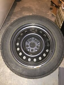 "17"" Hankook Winter Tires and Rims (5x120)"