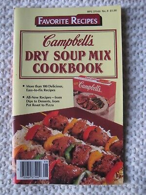 Campbell's Dry Soup Mix Cookbook (Favorite Recipes) No. 8](Halloween Mix Recipe)