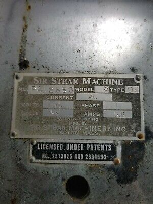 Sir Steak Model S Commerical Restaurant Tenderizer Meat Processing Machine Part