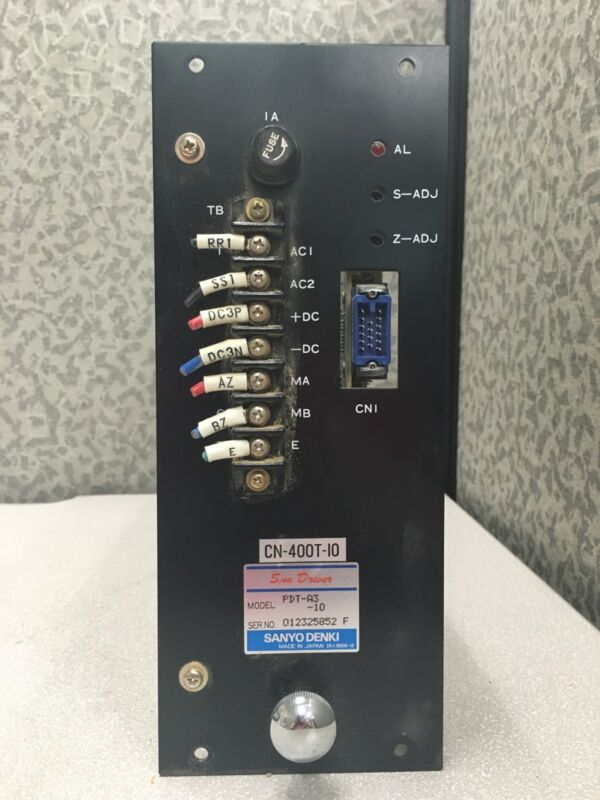 Sanyo PDT-A3-10 Servo Amplifier CN-400T-10