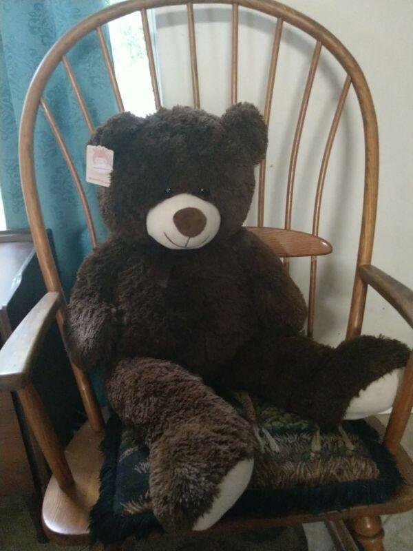MaoGoLan 35 inch Giant Brown Teddy Bear Stuffed Animals Plush - with tag