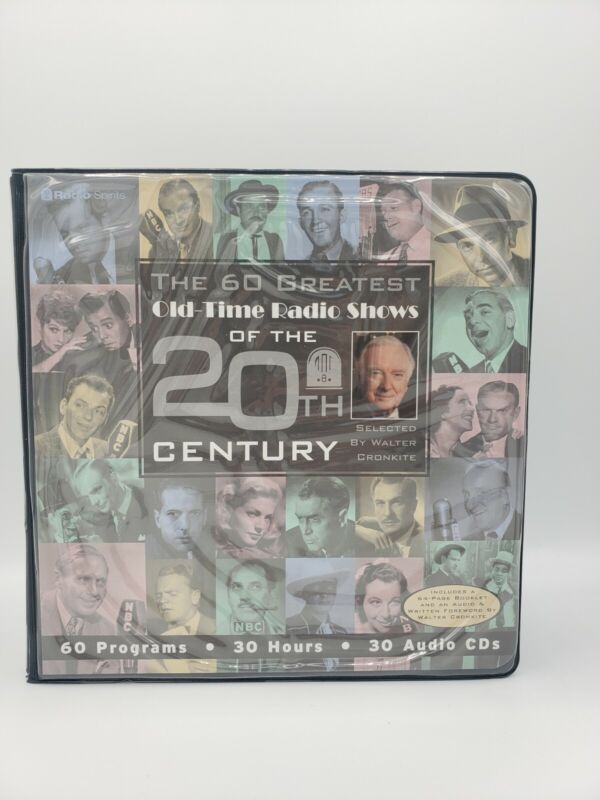 The 60 Greatest Old Time Radio Shows Of The 20th Century In Audio CDs