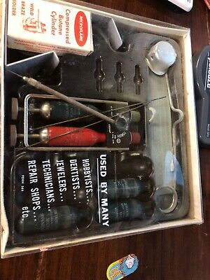 Vintage Microflame Gas Welding Torch Kit