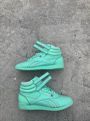 Reebok Freestyle Hi High Women's Size 7 - Excellent Used Condition