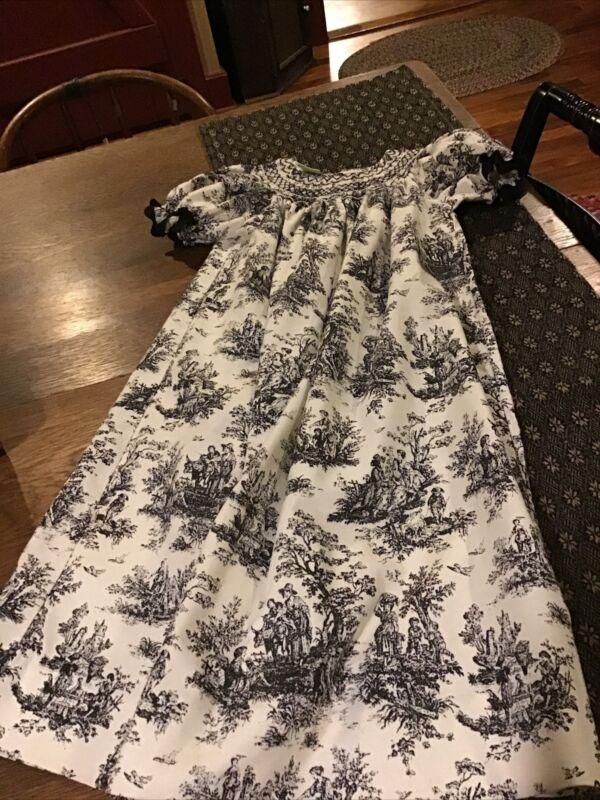 Le' Za Me Girls Long Smocked Dress...Size 6