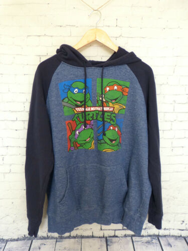 Teenage Mutant Ninja Turtles Mens Sweatshirt Hoodie Size XL