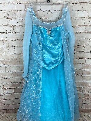 Disney Parks Elsa Kostüm (Disney Parks ORIGINAL Version Frozen ELSA Sparkling Costume Dress XL 14-16)