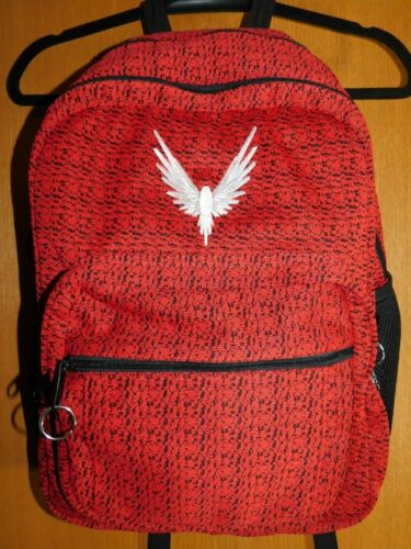 LOGAN PAUL RED MAVERICK BACKPACK  Book Bag School