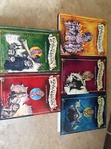 Something Wickedly Weird set of hardback books excellent shape