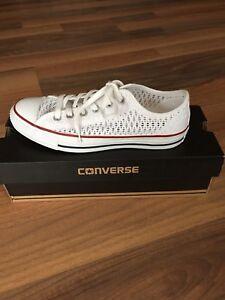 Super rare--BRAND NEW IN BOX- size 9 lace CONVERSE shoes