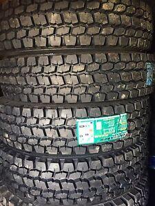 Semi Tires Brand New LongMarch 11r24.5 11r22.5