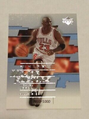 2003-04 Upper Deck Finite 23 MJ Michael Jordan Major Factors Rare Insert /1000