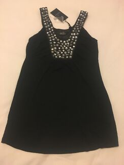 Ripe Maternity size XS black detail top with label