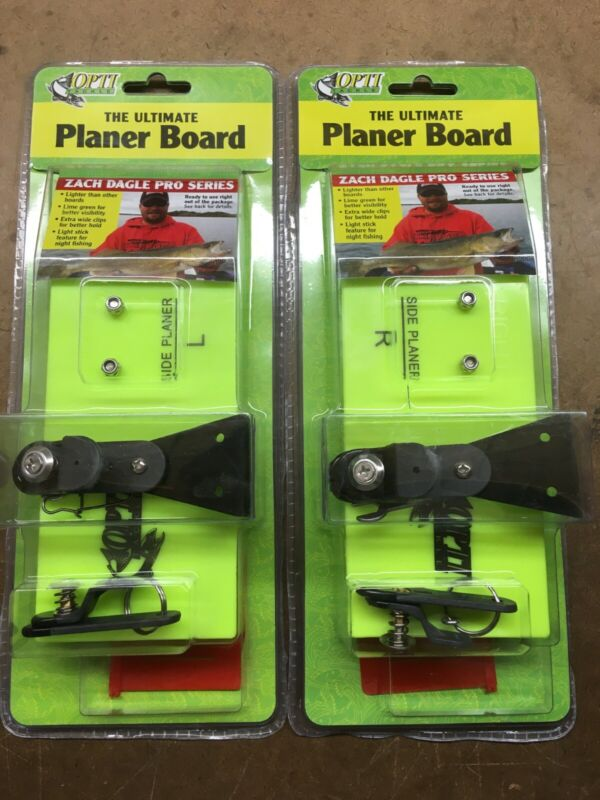 """Opti Tackle Planer Board Two Pack: Medium Left AND Right Boards (493/593) 8"""""""