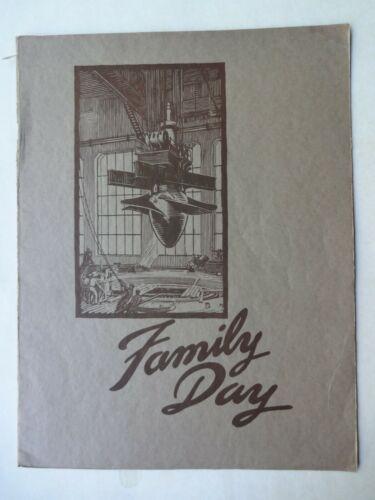 1939 FAMILY DAY BONNEVILLE TURBINE VALVE PROGRAM BROCHURE S MORGAN SMITH CO
