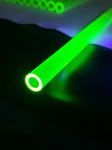 Corning 3320 Glass Tubing / Uranium Glass / Vaseline / Carnival Glass Tubing