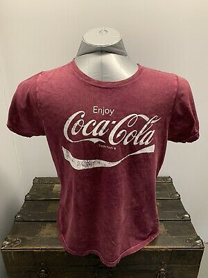 NEW Coca Cola Graphic T Shirt Size Small 100% Cotton