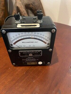 Triplett Model 850 Analog Volt Meter Tested