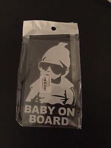 Baby on board sticker 5 Bentley Canning Area Preview