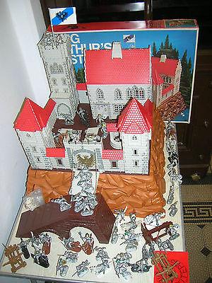 Alte Burg Ritterburg von BIG King Arthurs Castle Nr. 531 mit Ritter - 70er Jahre