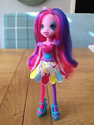 Rainbow Rocks Pinkie Pie My Little Pony Equestria Girls Doll Excellent Condition for sale  Shipping to South Africa