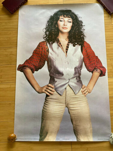 "KATE BUSH ORIGINAL POSTER 1979 PACE INTERNATIONAL 36"" x 24"