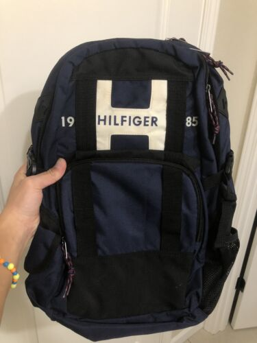 Tommy Hilfiger Raider Red or Blue Unisex Laptop Backpack Tra