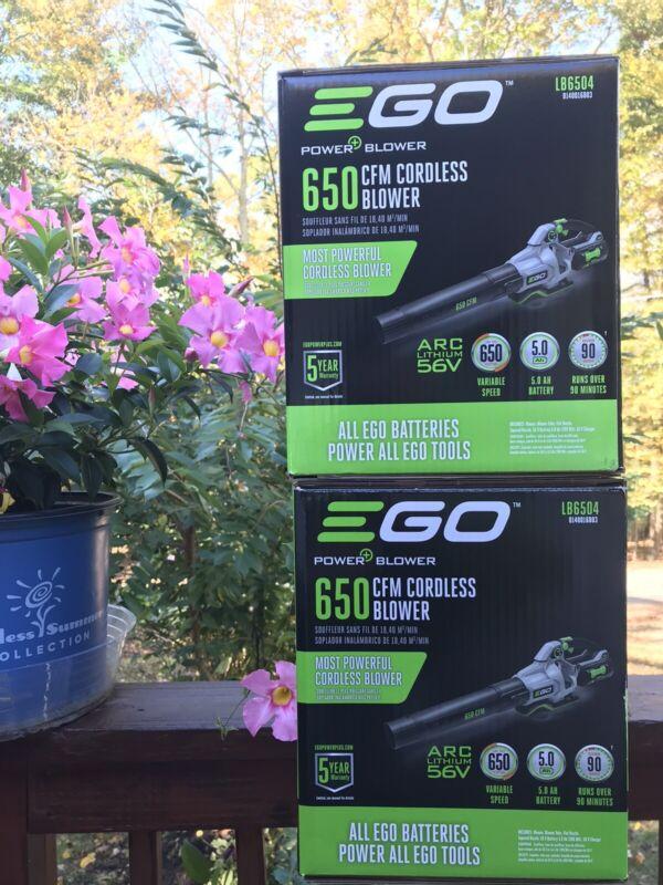 New! Ego LB6504 650CFM Variable-Speed Handheld Blower.