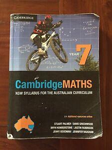 Cambridge Maths Text Book NSW. Haymarket Inner Sydney Preview
