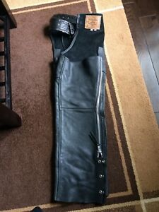 Walter Dyer Leather Motorcycle Chaps