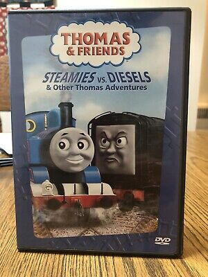 Thomas the Tank Engine - Steamies vs. Diesels Other Thomas Adventures (DVD,...
