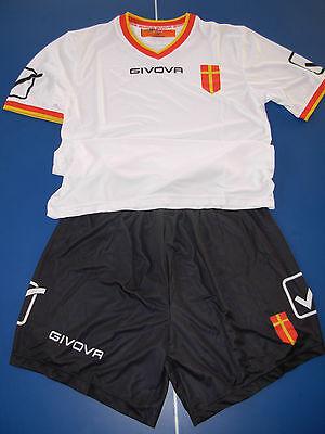 maglia shirt + short calcio messina 2016-17 givova taglia M nuova versione image