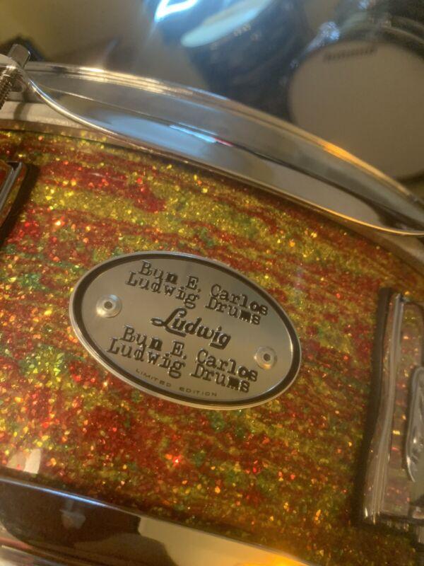 VERY RARE  Bun E. Carlos LUDWIG Citrus Mod SNARE DRUM New In Box #24 SIGNED!!