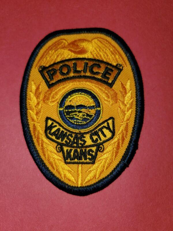 Kansas City Kansas Police Patch