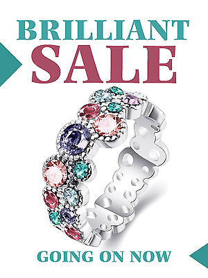 Brilliant Sale Business Jewelry Retail Display Sign 18w X 24h Full Color