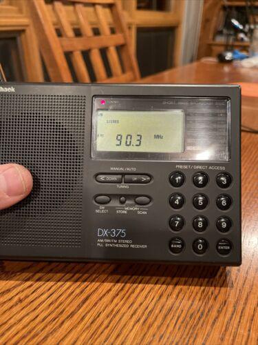 radio shack dx 375 shortwave receiver