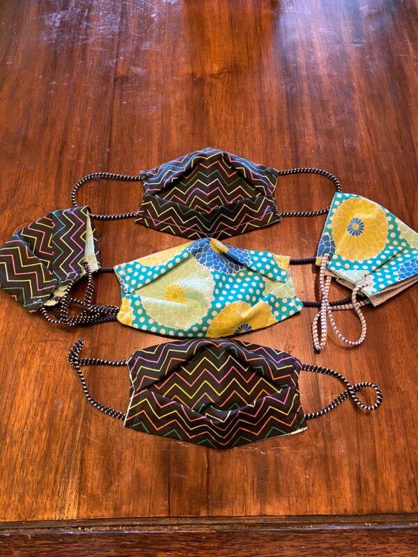 5 Handmade Safety Masks With Filter Pockets