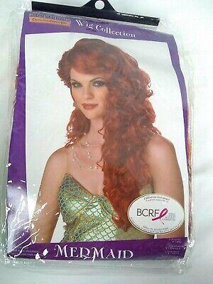 California Costumes Womens Mermaid Wig Auburn One Size Halloween Play Costume](Auburn Mermaids)