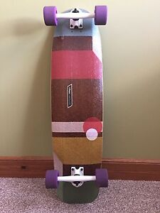 "Loaded ""Cantellated Tesseract"" longboard complete"