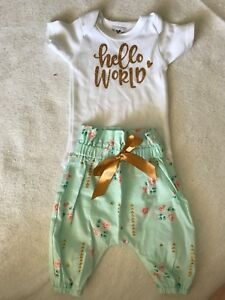 97c472b72 Newborn Coming Home Outfit from Etsy