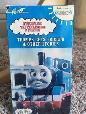 New Sealed Vintage Thomas Train Tank Engine Gets Tricked Ringo Starr VHS video