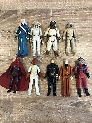 Star Wars Vintage Action Figures Bundle X 9 Rare