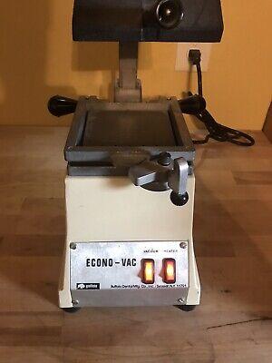 Buffalo Dental Econo-vac Vacuum Former Lab Vac Forming Machine 80186