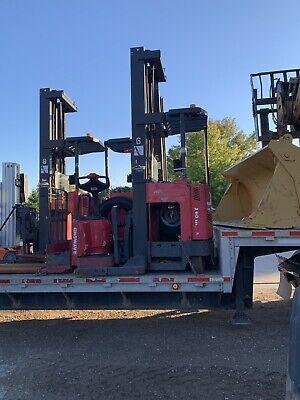 Raymond Ez R40tt Forklift Standup Reach Fork Lift
