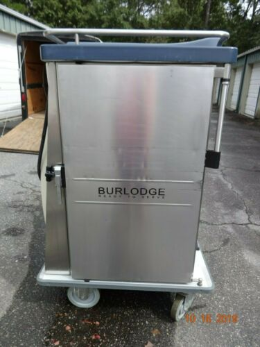 BURLODGE HOT & COLD READY TO SERVE POWERED ROLLING FOOD CARTS