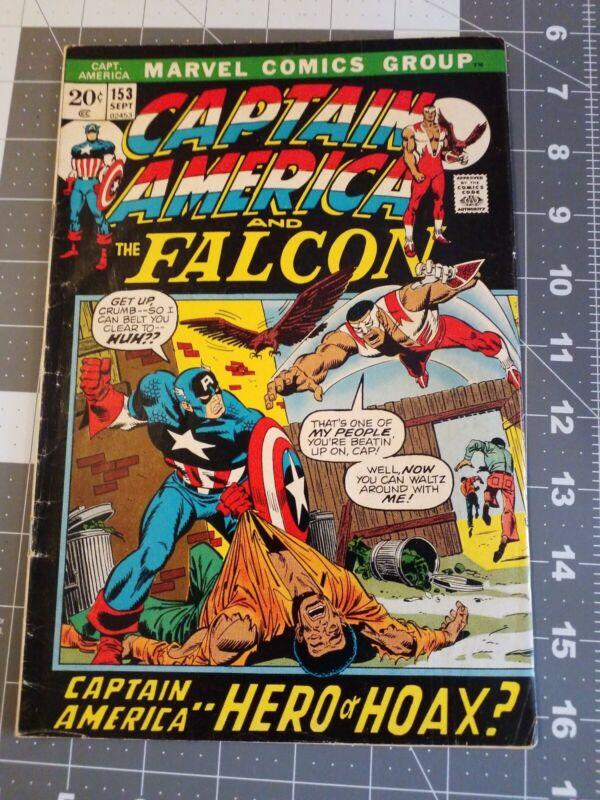 Captain America 153 Marvel Comics 1972